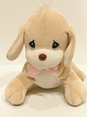 Precious Moments Tender Tails 1998 Special Limited Edition Tan Puppy Dog