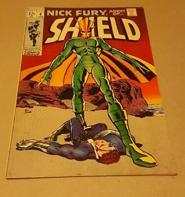 Nick Fury, Agent of SHIELD #8 (Jan 1969, Marvel) Classic Cover, Trimpe interiors