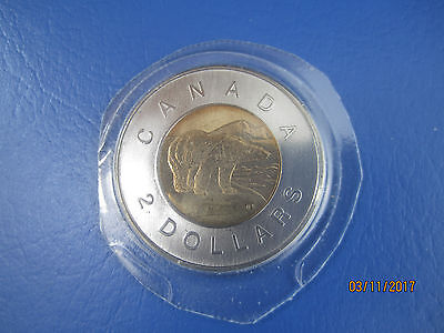 Canada 2010  Uncirculated  $2 (TOONIES) Sealed  from Mint Set