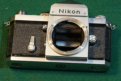 Nikon F2 Photomic Chrome 35mm Camera Body Only Vintage with Viewfinder
