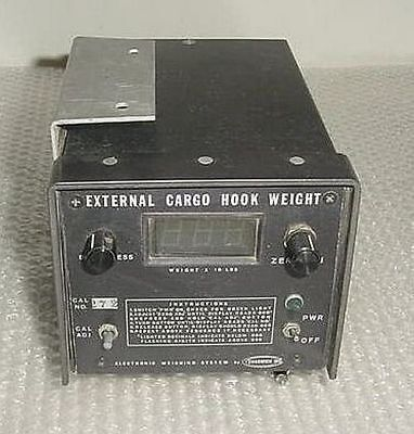 48-00000, Chadwick Helicopter External Cargo Hook Weight Scale