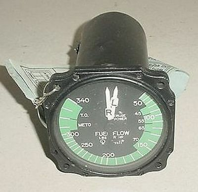 50-380095-3, Twin Beechcraft Fuel Flow Indicator w/ Serviceable tag