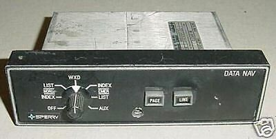 MI-585272-1, Sperry DNCP-1001 Aircraft Data Nav Control Panel