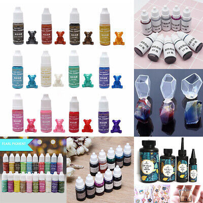 Pearly-lustre Pigment Epoxy UV Resin Coloring Dye Colorant Art DIY Jewelry Mold