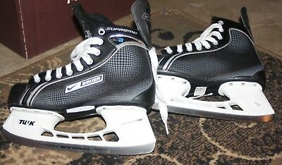 Nike Bauer Supreme One05 Size 8.5 Ice Hockey Skates Only Worn Once or Twice