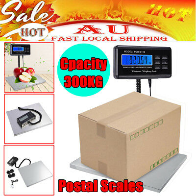 New Commercial Scales Digital Platform Postal Scale Electronic Weight 0.1-300KG