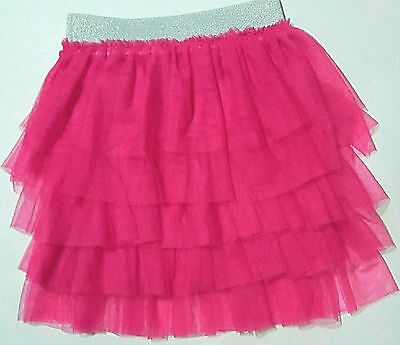 Say What? Girl's Hot Pink Layered Tutu Skirt Jojo Siwa Inspired Look S M L XL