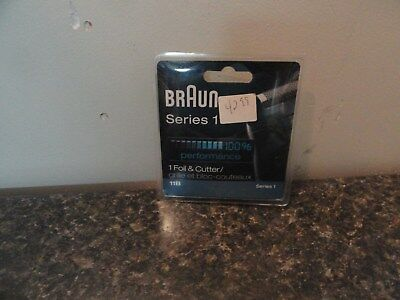new Braun 11B Electric Shaver Replacement Foil Series 1 110 120 130 140 5683 568