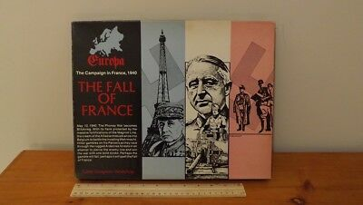 Gdw - Europa The Fall Of France - Military Strategy Game Unpunched 1981