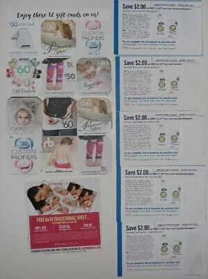 Maternity & Infant Gift 🎁 Card  Variety Pack Over $500 Worth