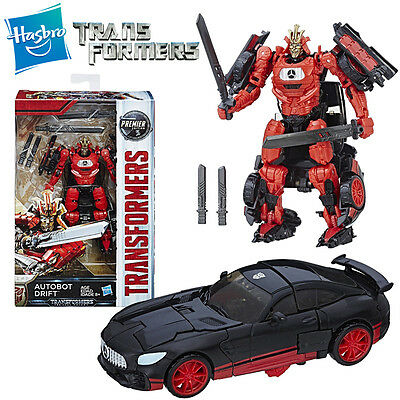 Transformers The Last Knight Autobot Drift Master Swordsman Premier Edition Toy