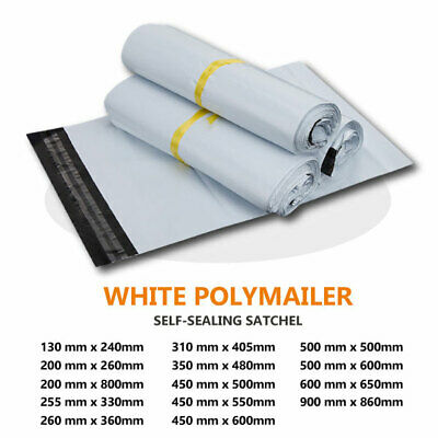 Poly Mailer Satchel Plastic Courier Self Sealing Packing Shipping Bag Recycle