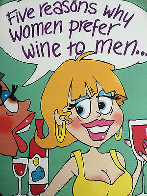 AT LAST A Wine Glass That Makes Sense Humorous Funny Humour