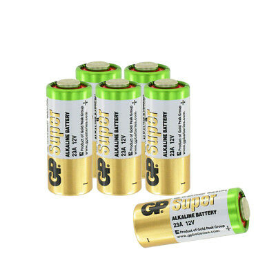 A23 12V Alkaline 23-A replacement battery 23AE GP - 6 Pcs