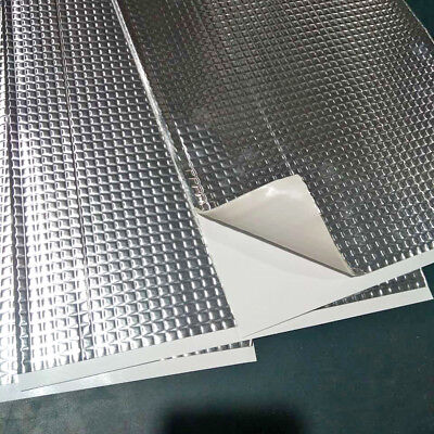 New 30x Sheets Car Van Deadening Sound Proofing Damping Mat 2mm White Interior