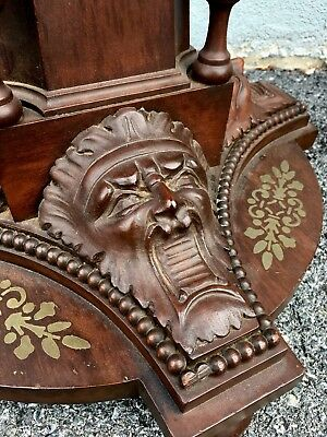 Unusual Heavily Carved Victorian Pedestal/Stand. Ornate 1890s