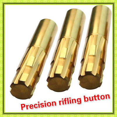 Double Layer Blade Push Rifling Buttons Customize Tungsten Steel Chamber Reamer