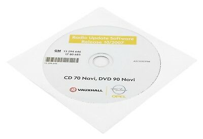 ORIGINAL OPEL Vectra C Signum Zafira B CD 70 DVD 90 Navi Radio Software Update