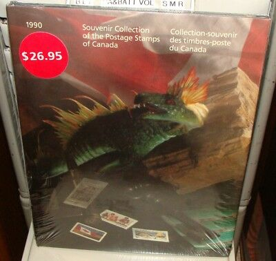 1990 CANADA  ANNUAL SOUVENIR COLLECTION Unopened