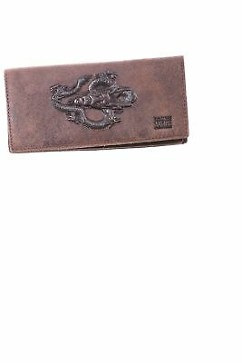 USED Esiposs Men's Checkbook Cover N/A Brown