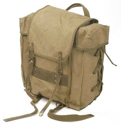 Vintage Italian Mountain Army Backpack 20-25 L SMALL Bushcraft USED