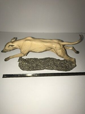 greyhound statue Vintage From England