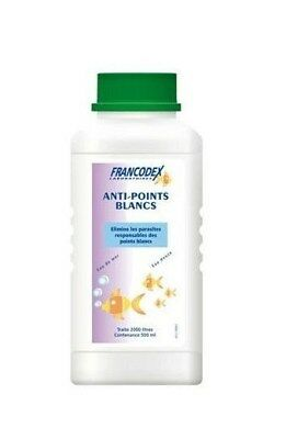 Francodex Anti Points blancs Elimine les parasites 500ml neuf