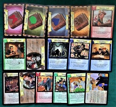 Lot of 16 Harry Potter Trading Cards -Trading Card Game - Not Complete Set