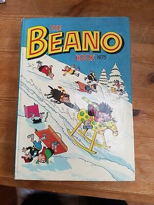 The Beano Book 1975 in very good condition