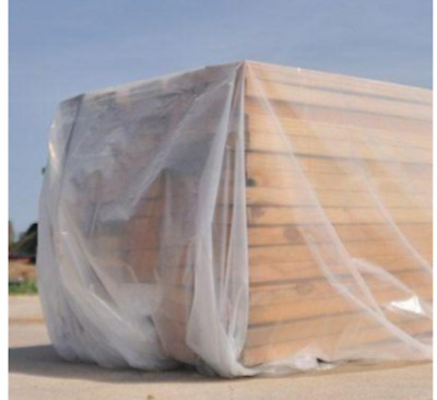 Plastic Sheeting Roll EXTRA HEAVY DUTY 12 ft x 100 ft Clear Opaque 6 mil