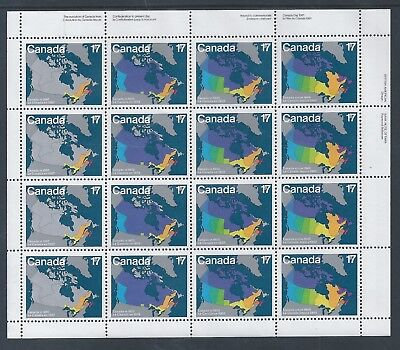 Canada Day #893a UR Full Pane Mint Never Hinged ** Free Shipping **