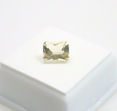 Yellow Scapolite - 2.90ct - Emerald Cut - 10x8mm - Loose Gemstone