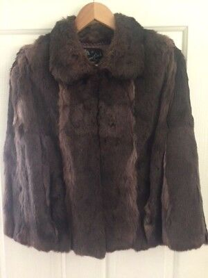 Size 12/14 Cornelius Real Fur Cape
