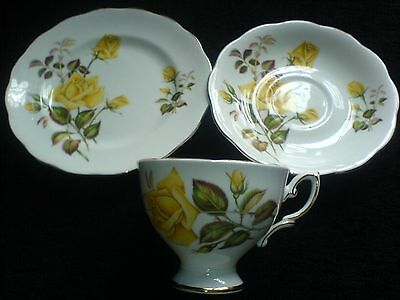 ROYAL STANDARD 'Sunset' CHINA Cup/Sauer/Plate Trios Set x 1 ( 2 available)