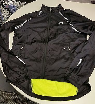 Pearl Izumi Elite Barrier Convertible Mens Jacket XL Black