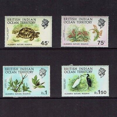 British Indian Ocean Territory: 1971 Aldabra Nature Reserve, Mint set