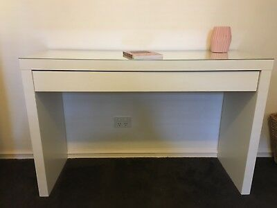IKEA MALM Dressing Table or Desk White with Large Drawer RRP $199