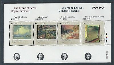 Canada Canada Day - Group of Seven #1560 Souvenir Sheet MNH ** Free Shipping **