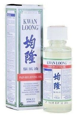 1/3/6/12 Kwan Loong Oil Pain Relieving Aromatic oil 2 fl.oz (57ml) New Packaging