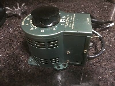 @@ Staco Energy Products Type 3Pn1010 Variable Autotransformer (#5)