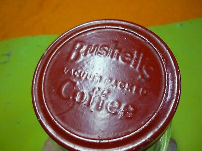 Vintage Bushells Coffee Jar