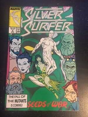 Silver Surfer#6 Incredible Condition 9.2(1987) Rogers Art!!