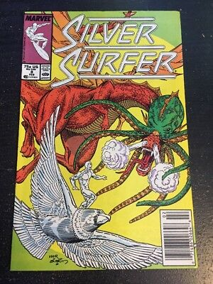Silver Surfer#8 Incredible Condition 9.2(1988) Marshall Rogers Art!!