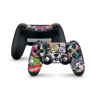 Sticker Bomb Skin For Sony Playstation 4 Dualshock Wireless Controller PS4