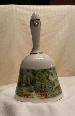 Currier and Ives Ceramic Bell Limited Edition 1979