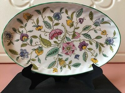 Vintage Minton Haddon Hall England Bone China Small Serving Plate