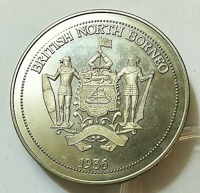 Personal collection release British North Borneo Edward viii Proof Pattern Coin