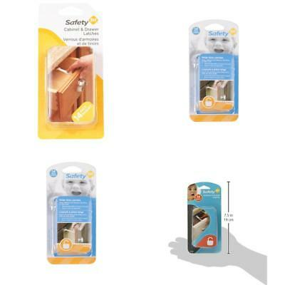 Grip Lock Latch 14 Pack Baby Child Safety Proof Cabinet And Drawer Lock Latches