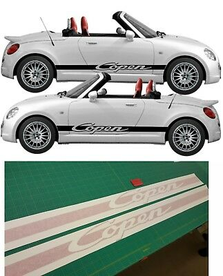 Daihatsu Copen S side stripes decals stickers graphic any colour