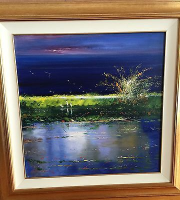 COLIN PARKER STUNNING OIL PAINTING Amazing Colours HIGHLY COLLECTABLE